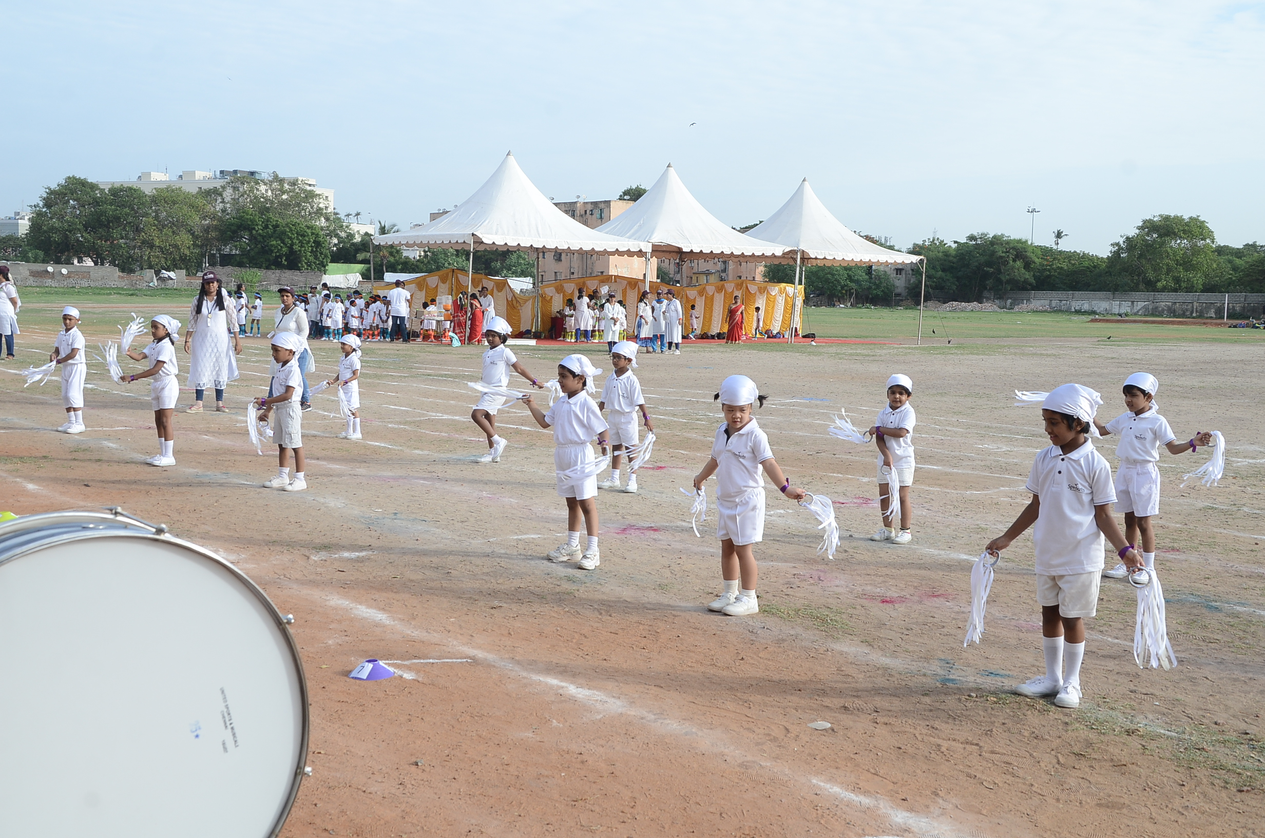 Drill by Primary 5 representing whisical