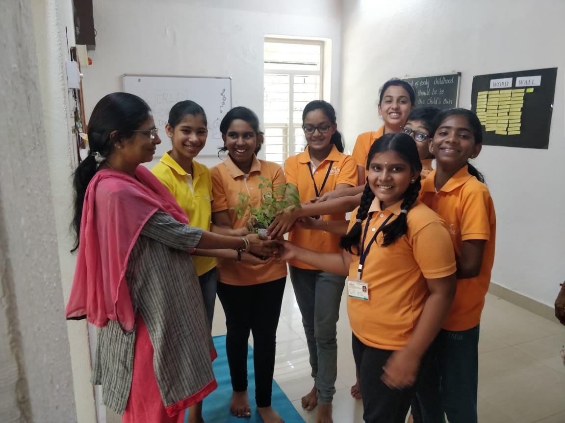 Welcoming Ms. Jyothi