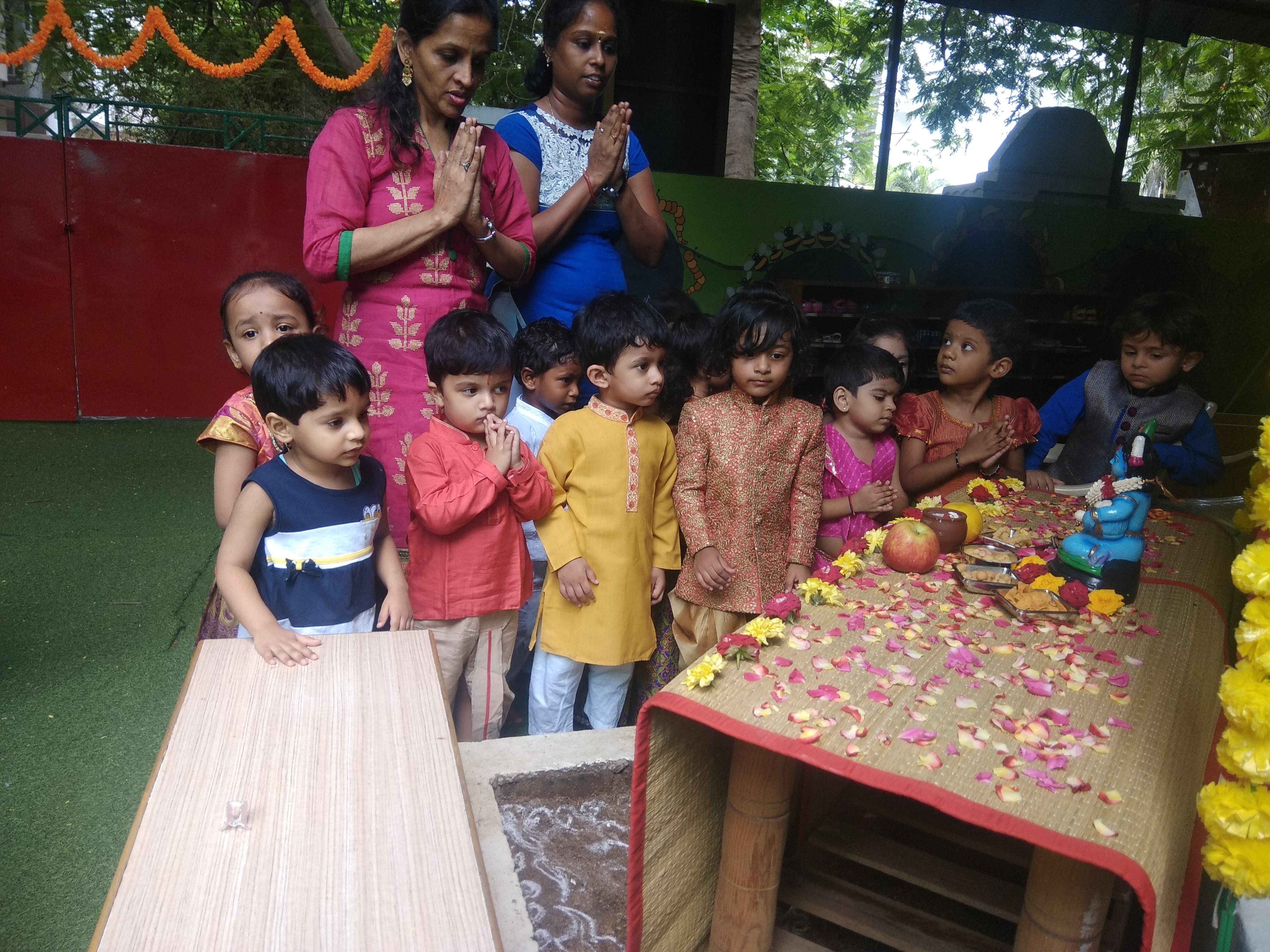 Krishna Jayanthi Celebrations _ Toddlers