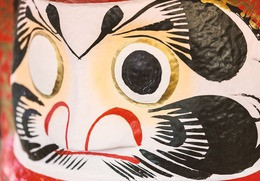 A practice inspired by Daruma