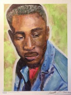 """watercolor, 11""""x14"""""""