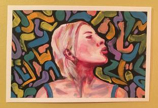 Watercolor/Guache Study