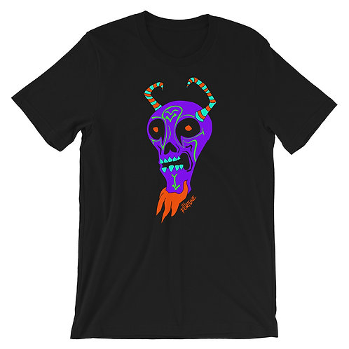 Purple Demon - Short-Sleeve Unisex T-Shirt
