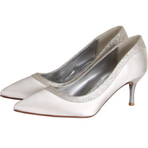 Wedding Shoes Ivory Or Colour?
