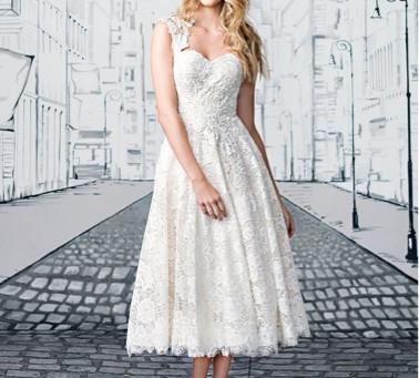 Pretty Short Wedding Dresses