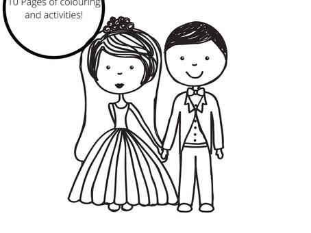 Wedding Activity Book