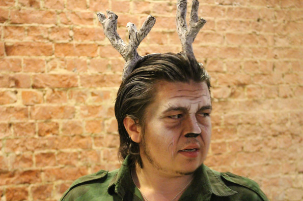The Eight: Reindeer Monologues by Jeff Goode