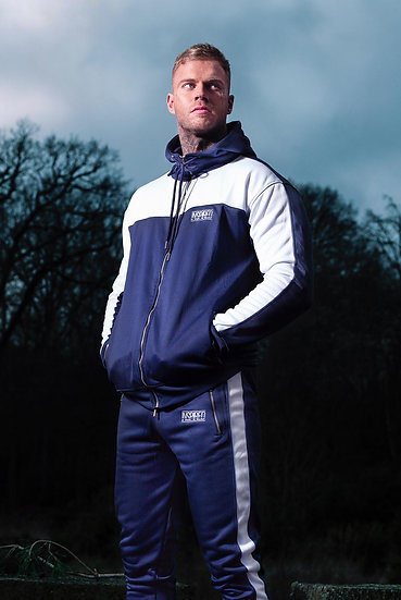 INSPIRED Premium Tracksuit Jacket (Blue)