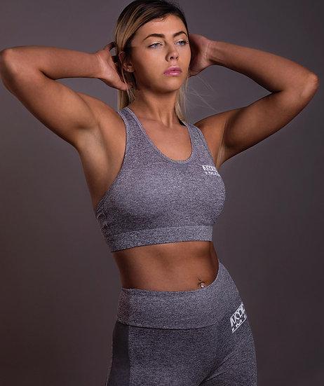 INSPIRED Grey Sports Bra