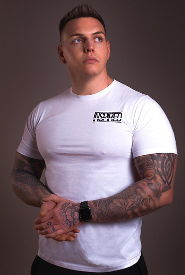 INSPIRED White Mens T-Shirt