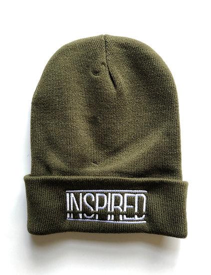 INSPIRED Beanie Khaki