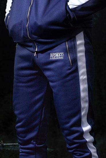 INSPIRED Premium Tracksuit Joggers (Blue)