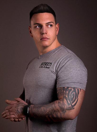 INSPIRED Grey Mens T-Shirt