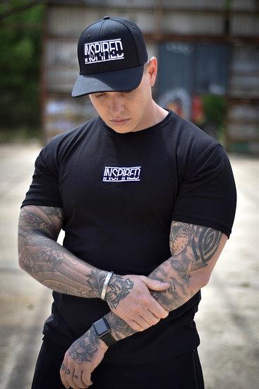 Black Premium Embroidered T-Shirt