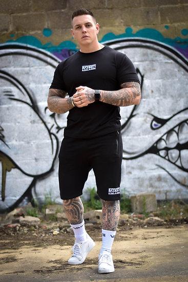 Black Premium Muscle Fit Set