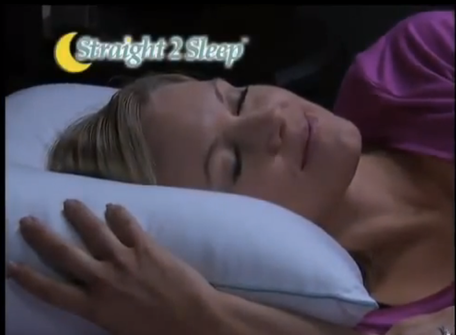 Straight 2 Sleep Pillow Ad
