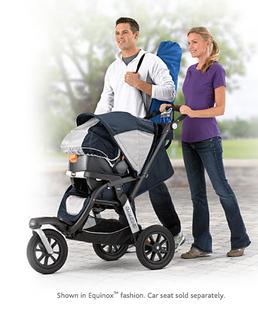 Chicco Activ3 Jogging Stroller Ad