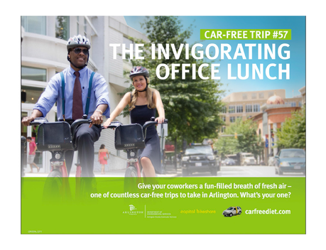 Arlington Car Free Diet Ad