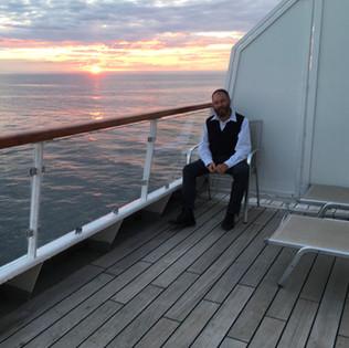 Paul on a cruise