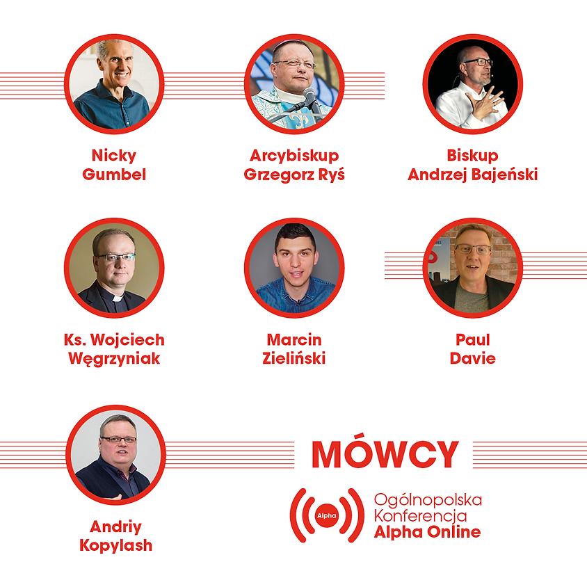 Ogólnopolska Konferencja Alpha Online 2021