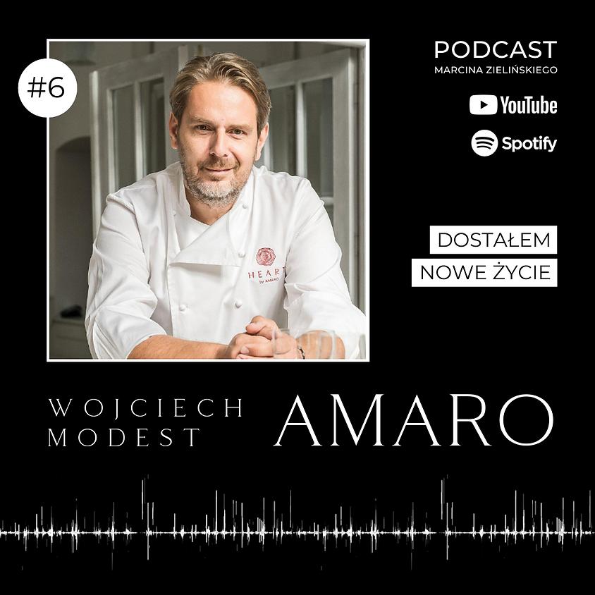 """Podcast """"Rozpal wiarę"""" - Wojciech Modest Amaro"""