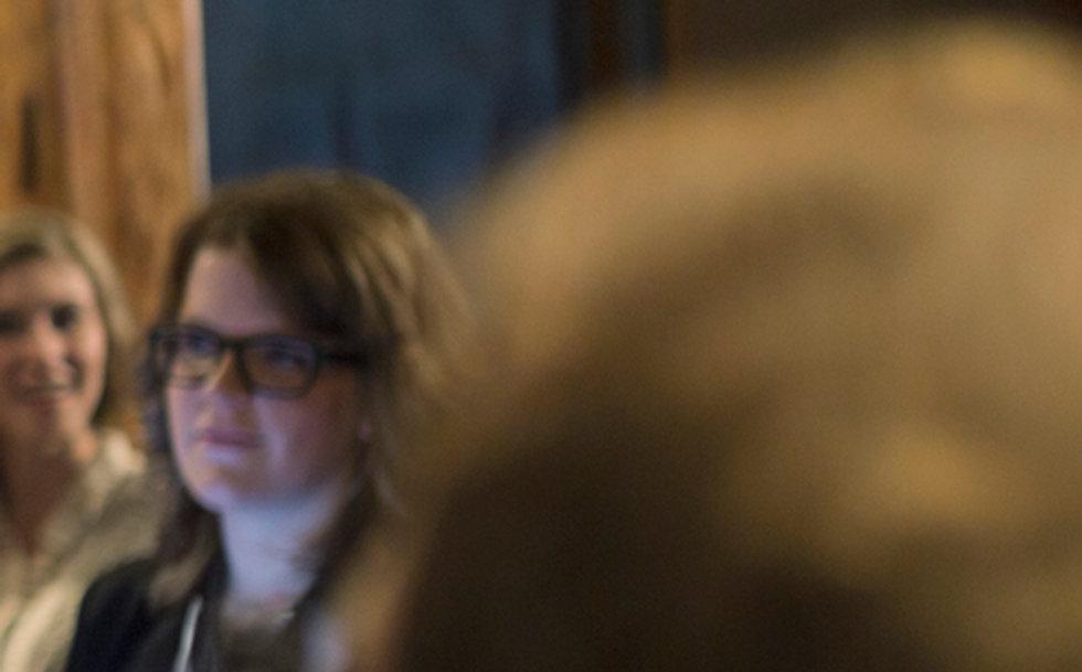 Menschen in einer Sitzung Sammlung, Zusammen