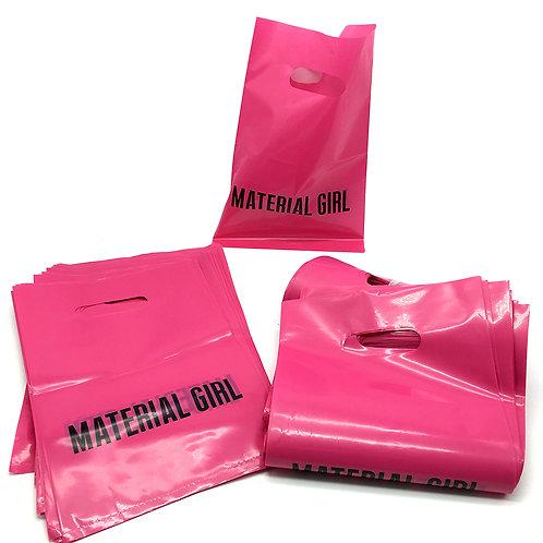 Material Girl沖孔袋、名片、貼紙、霧透卡