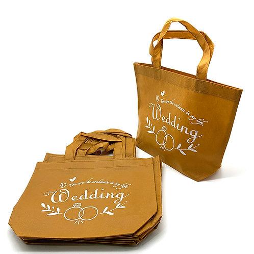 Wedding 不織布袋