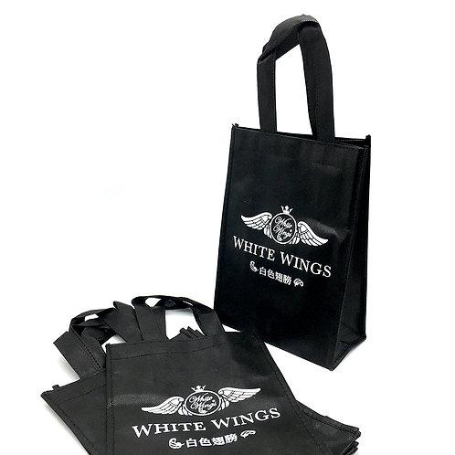 White wings 白色翅膀不織布袋