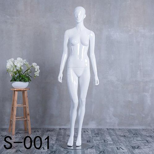 S-001 女模特