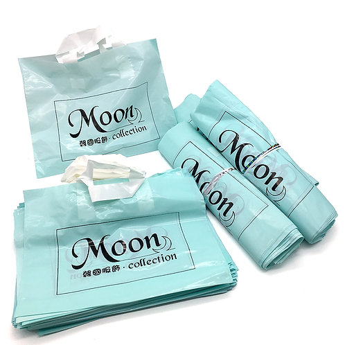 Moon collection 名片、貼紙、PE袋