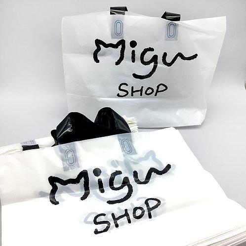 Migu PE橫版手提袋