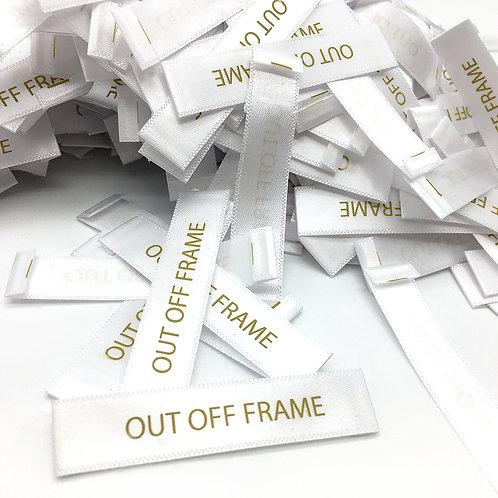 OFF FRAME STUDIO 吊牌、名片、領標