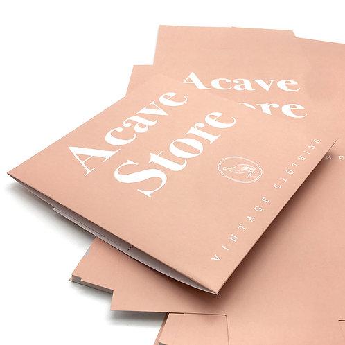 Acave store 絲巾盒、沖孔袋、提袋