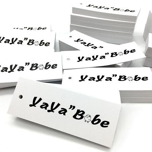Yayababy 吊牌