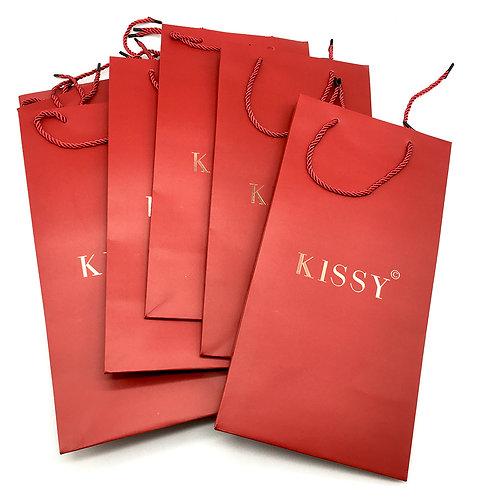 KISS 燙金紙袋
