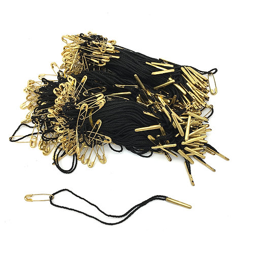 PLAA 金色針棒線扣+別針