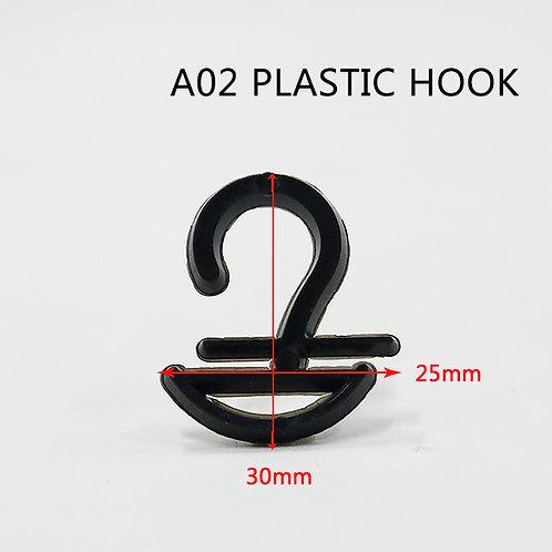 A02 半圓 塑膠襪勾