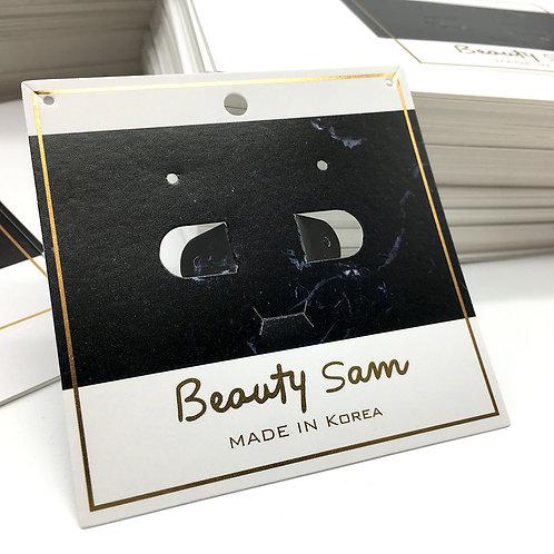 Beauty Sam 耳環卡、髮式卡