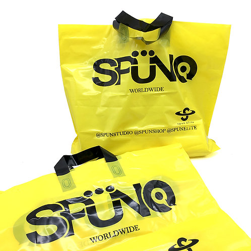 SPUN黃色PE袋