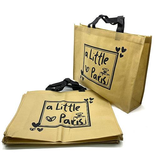 a Little Paris 不織布袋