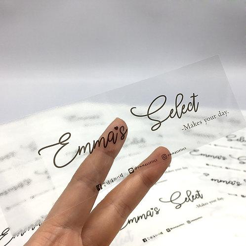 Emma's select 透明貼紙