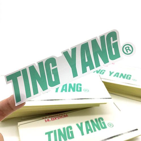 TING YANG 札型貼紙