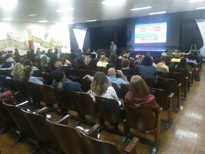 Palestra para Diretoria de Ensino da Região de Santos - SP