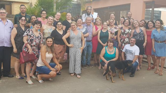 Formação para Escola Profª Deolinda de Souza Lima em Jundiaí - SP