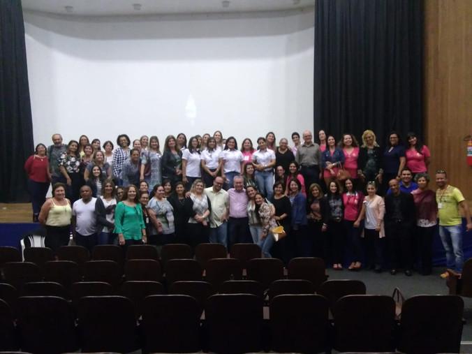 Formação Gestão de Pessoas e Indicadores para Diretoria de Santo Anastácio e Escolas da Região.