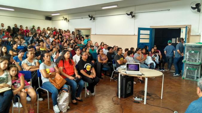 Palestra na Escola Princesa Isabel em SP