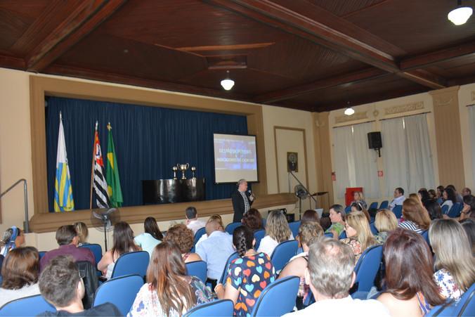 Palestra na Diretoria Regional de Ensino de São João da Boa Vista - SP