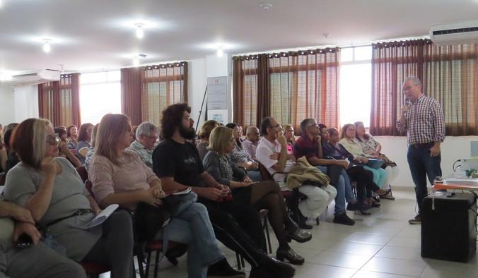 Palestra para Diretoria de Ensino da Região de São Vicente - SP