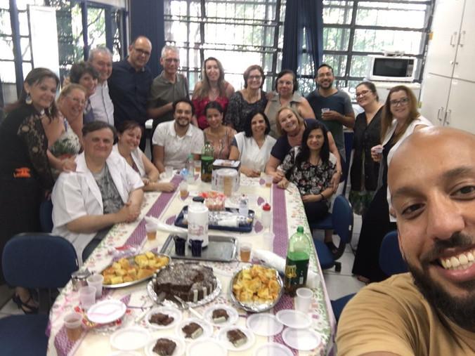 Encontro com Equipe Gestora da Escola Milton da Silva Rodrigues